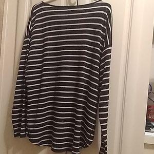 Chaps soft stripe tunic